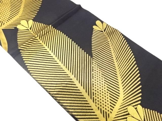 【IDnet】 織悦製 若松模様織出し全通袋帯【リサイクル】【中古】【着】
