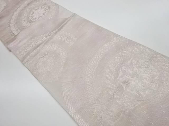 【IDnet】 華紋模様織出し袋帯【リサイクル】【中古】【着】