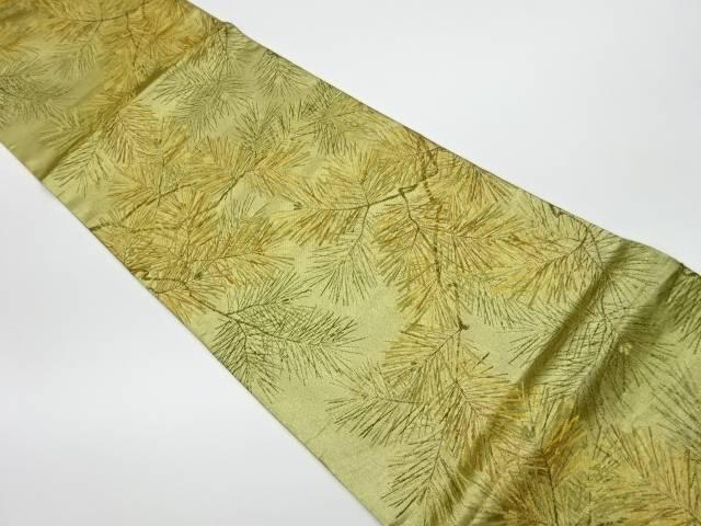 【IDnet】 松模様織出し袋帯【リサイクル】【中古】【着】