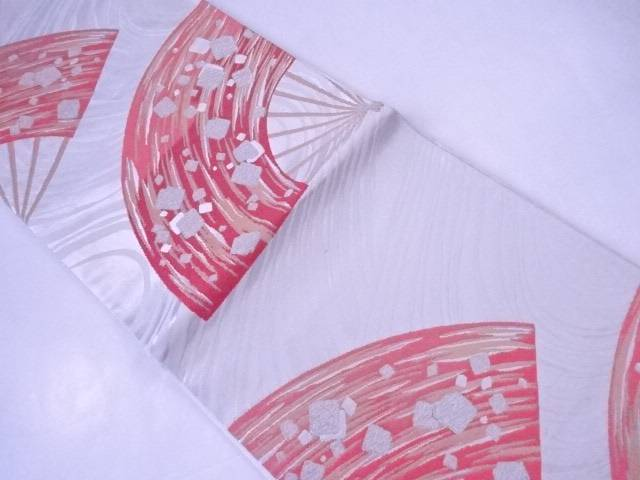 【IDnet】 袋帯 三松創作 流水に扇文【リサイクル】【中古】【着】