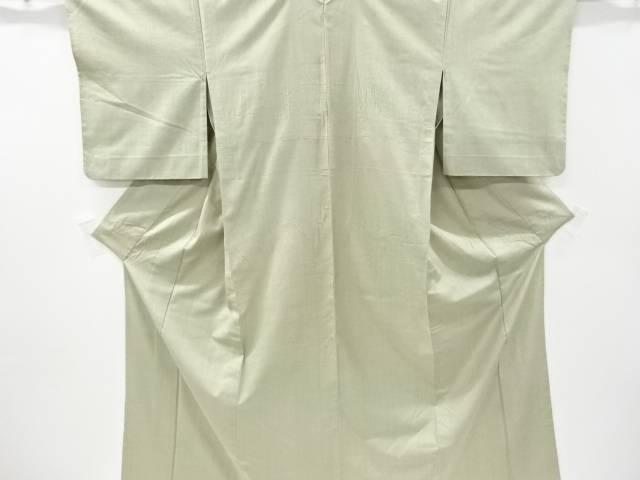 【IDnet】 米沢紬紅花染一つ紋単衣着物【リサイクル】【中古】【着】