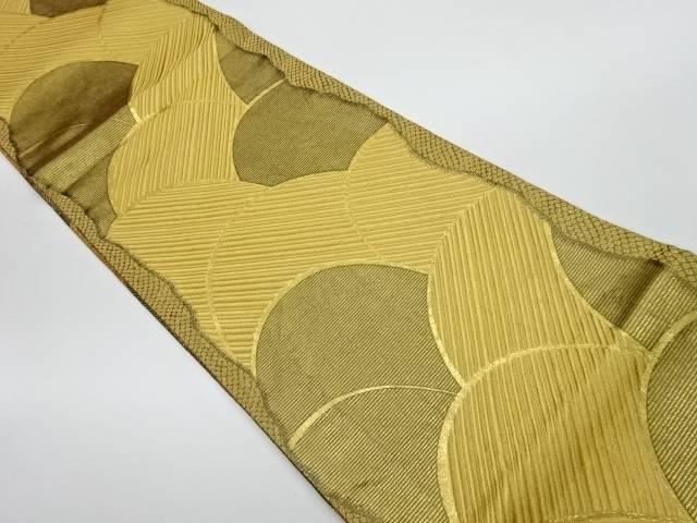 【IDnet】 抽象模様織出し全通袋帯【リサイクル】【中古】【着】