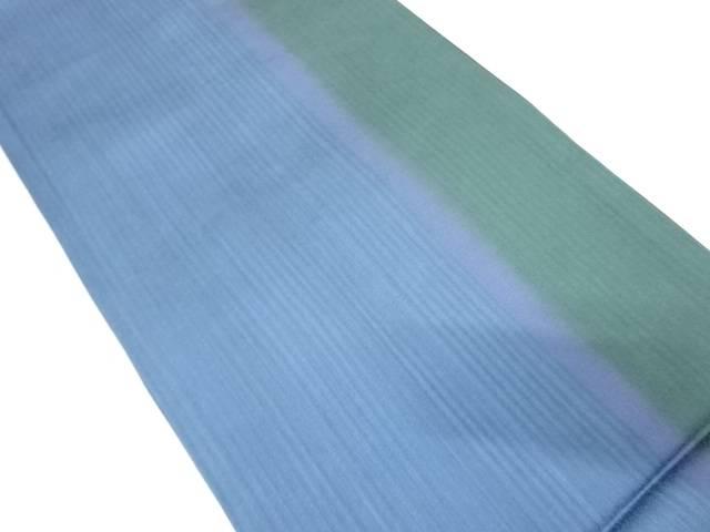 【IDnet】 縞模様織出し全通袋帯【リサイクル】【中古】【着】