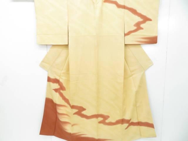 スーパーセール50%OFF IDnet 訪問着 引出物 霞文 使い勝手の良い 着物 着 中古 リサイクル