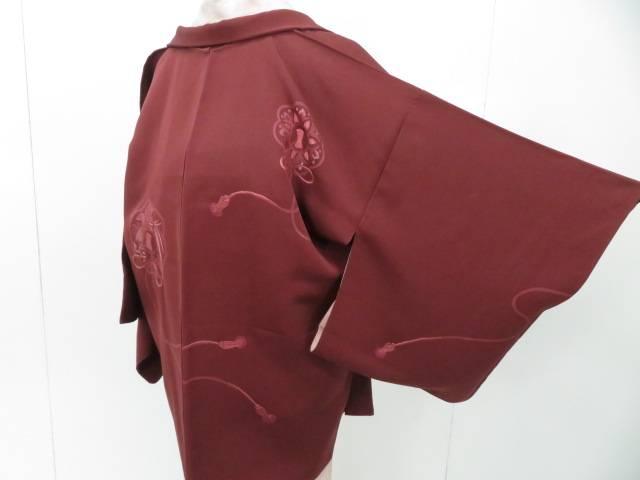 スーパーセール50%OFF IDnet 出荷 羽織 刺繍 高級 着 リサイクル 鏡裏文 中古