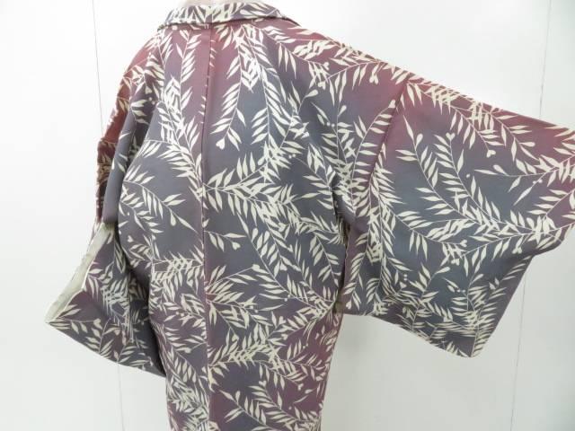 商品追加値下げ在庫復活 スーパーセール50%OFF 新作 IDnet 羽織 暈しに枝葉柄 中古 リサイクル 着
