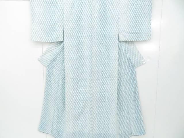 スーパーセール50%OFF IDnet 小紋 幾何学文 いよいよ人気ブランド 着物 着 中古 リサイクル セール