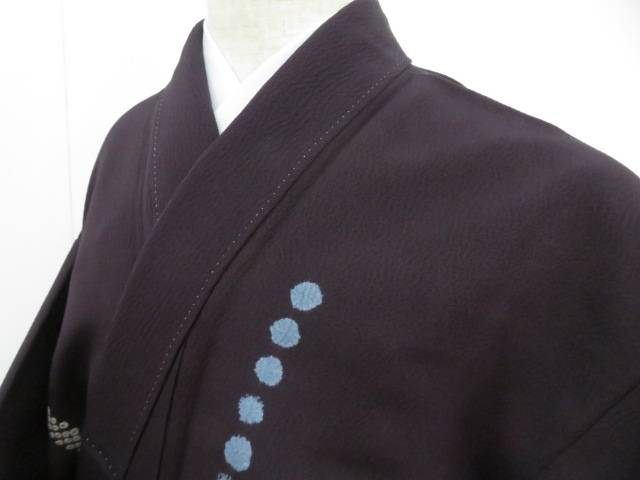 アイディーネットのリサイクル アンティーク着物 茶道具 日本 IDnet 小紋 縮緬 絞り 着物 着 おすすめ特集 中古 リサイクル 幾何学文