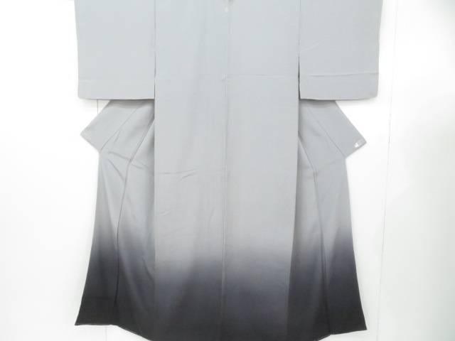 アイディーネットのリサイクル アンティーク着物 茶道具 IDnet 付下げ 日本 作家物 水野正夫 リサイクル 裾流し 年中無休 一つ紋入り 中古 着物 着