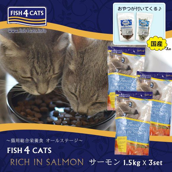 Idog And Icat Fish4cats Fish 4 Kyats Salmon 15 Kg 3 Bulk Buying
