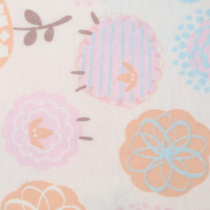 ワコール Wing 綿100% 羊と可愛い花柄 パジャマ 薄手 (レディース ナイトウェア ルームウェア 綿 母の日 敬老の日 長袖 長ズボン 一部地域除き  EP7923)
