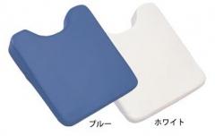 マッサージクッション 薄型 ブルー