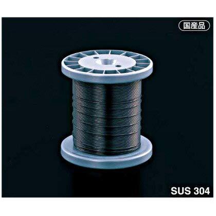 アイオウル ふじわら BW-08-100 防鳥用ワイヤ 0.81(被覆径1.0mm)×100m