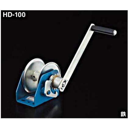 アイオウル ふじわら HD-100 HDシリーズ容量:100kg 使用ロープ径:6mm ロープ巻取量:15m