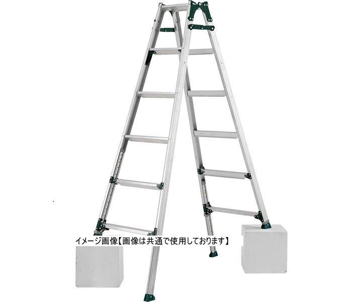 アルインコ PRT-210FX 伸縮脚(441mmタイプ)付はしご兼用脚立 (配送条件あり)