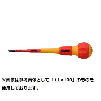 日本メーカー新品 上質 アネックス ANEX 兼子製作所 スリム絶縁ドライバー+3×150 No.7900