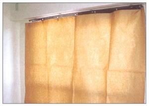賃貸住宅、リフォーム工事用 日除けカーテン 50枚入 畳、壁の日焼け防止に 2000×1950mm