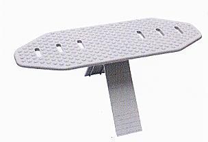 側溝蓋穴ふさぎ メクラキャップ 側溝キャップ PP製 100個入