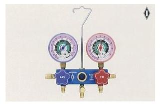 文化貿易工業 BBK 530-CM 201-0112 R-22 マニホールド(ダイヤフラム式)