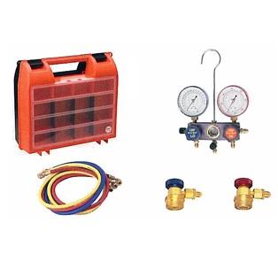 文化貿易工業 BBK 1531-CMC-12 205-0006 カーエアコン用マニホールドキット(専用カプラー付)
