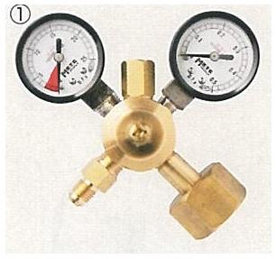 文化貿易工業 BBK MRE-21D 304-0015 チッソブローキット 構成部品 チッソ用調整器