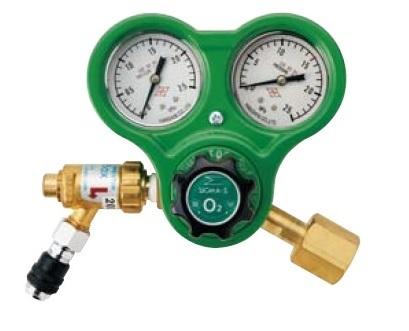 文化貿易工業 BBK B7C 酸素レギュレーター(逆火防止器付ネジ式)