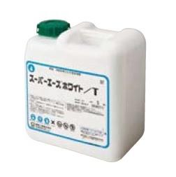 文化貿易工業 BBK 217-0046 冷却水系洗浄剤 スケール洗浄剤(中和不要) スーパーエースホワイト/ T