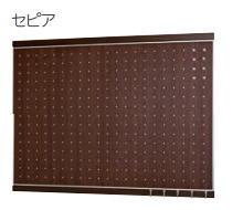 ベルク MR4056 フック付きマグネットボード 600×900 セピア