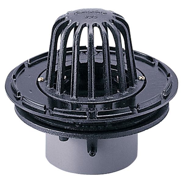 中部コーポレーション CRAP-1SD-100 外断熱工法 打込用ルーフドレン 差込式