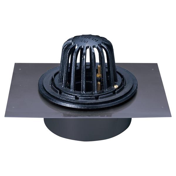 中部コーポレーション KCRAG-S-125 鋼製下地断熱用 打込用ルーフドレン(受注生産品)
