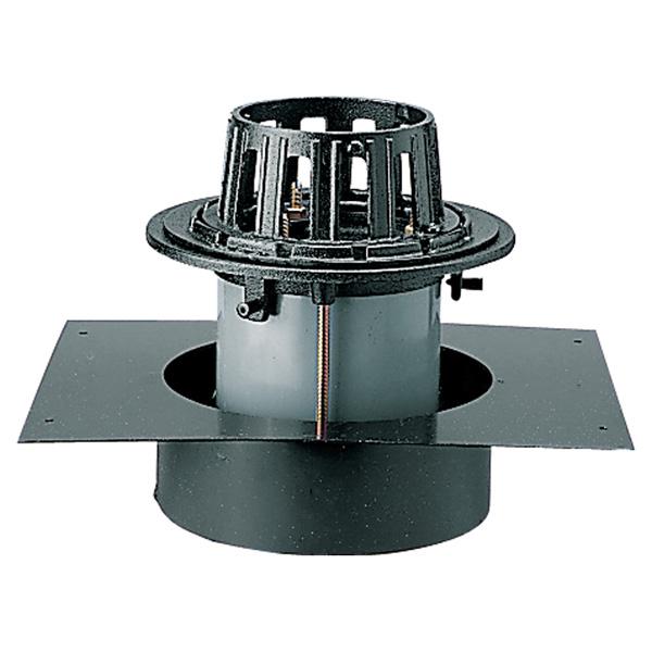 中部コーポレーション DCBSP-1S-150 デッキプレート 打込用ルーフドレン 差込式