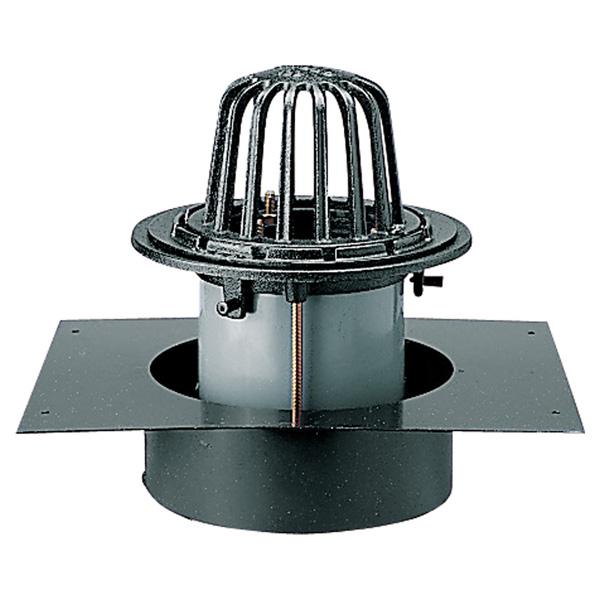 中部コーポレーション DCRAG-S-150 デッキプレート 打込用ルーフドレン ねじ込式
