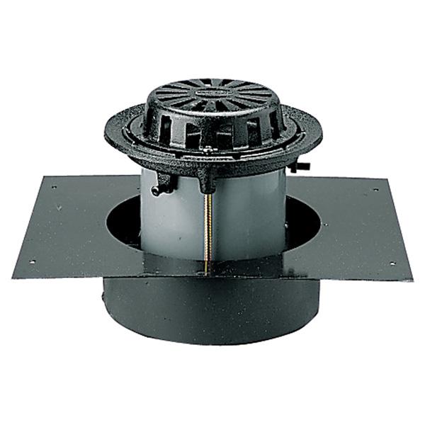中部コーポレーション DCRMLP-1S-150 デッキプレート 打込用ルーフドレン 差込式