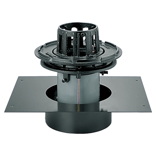 中部コーポレーション DCBSP-1SD-125 外断熱工法 デッキプレート 打込用ルーフドレン 差込式