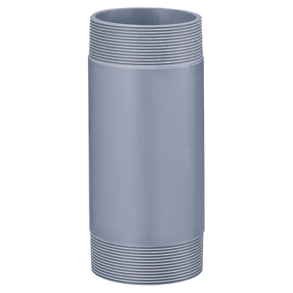 中部コーポレーション VPJ-2-150-250L 両ネジ 接続用直管 塩ビ管(受注生産品)