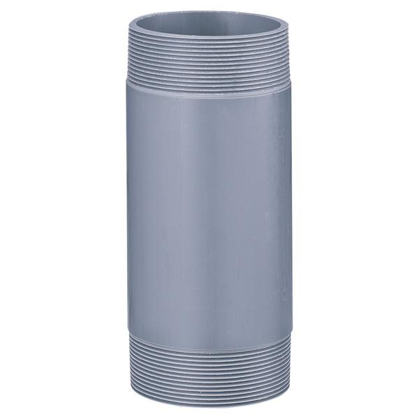 中部コーポレーション VPJ-2-125-350L 両ネジ 接続用直管 塩ビ管(受注生産品)