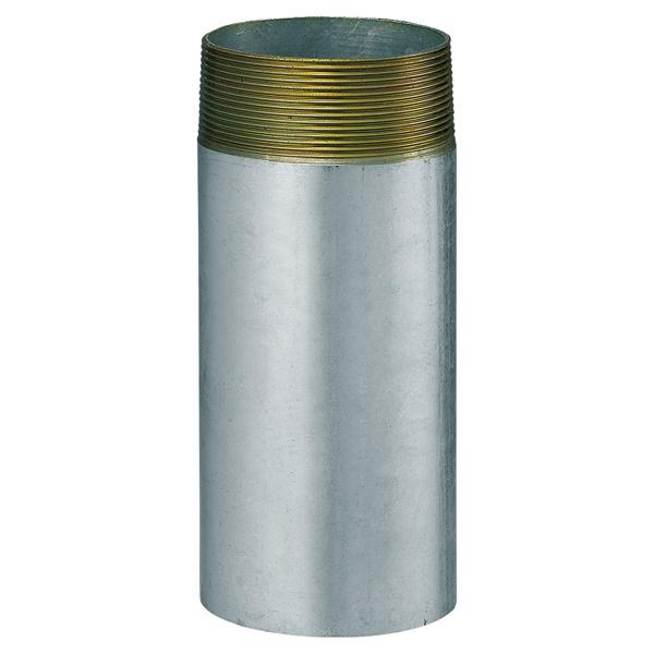 中部コーポレーション CL-2GP-75-500L 片ネジ 接続用直管 鋼管
