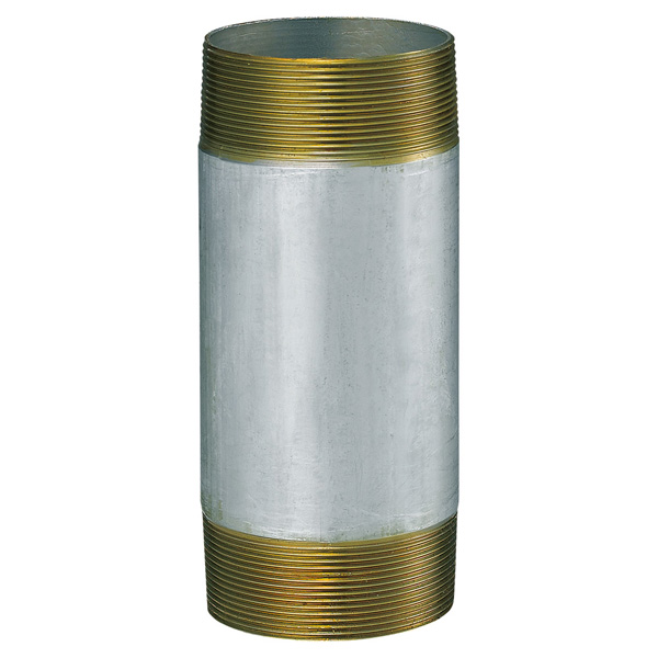 中部コーポレーション CL-2GP-65-500L 両ネジ 接続用直管 鋼管
