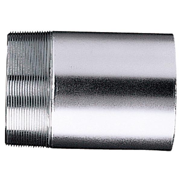 中部コーポレーション SJ-1-125-200L 片ネジ よこ引きドレン用ステンレス製接続管