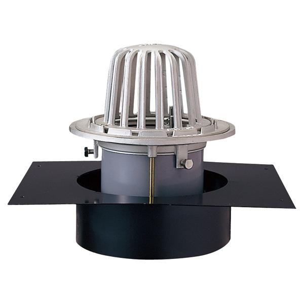 中部コーポレーション DSCRAP-75 ステンレスデッキプレートドレン