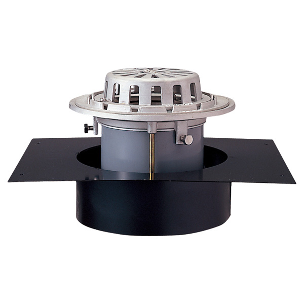 中部コーポレーション DSCRALP-125 ステンレスデッキプレートドレン