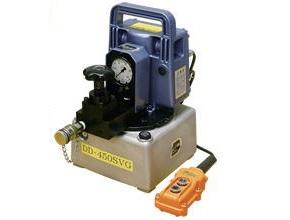 【ダイキ DAIKI】 小型電動油圧ポンプ 【DD-450S-2】 2連 AC100V(50Hz/60Hz) 手動弁型
