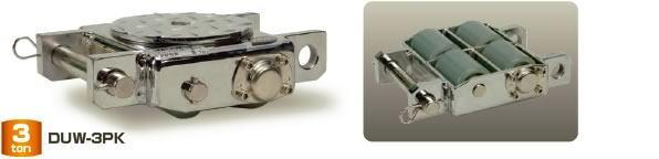 【ダイキ DAIKI】 スピードローラー クリーンルーム対応タイプ DUW-3PK 低床型 能力3t