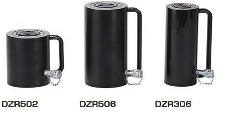【ダイキ DAIKI】 アルミ合金油圧シリンダ(単動式) 【DZR302】 スプリングリターン型