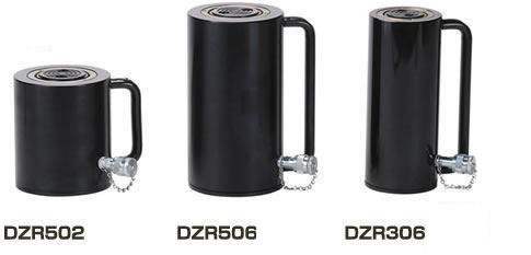 【ダイキ DAIKI】 アルミ合金油圧シリンダ(単動式) 【DZR306】 スプリングリターン型