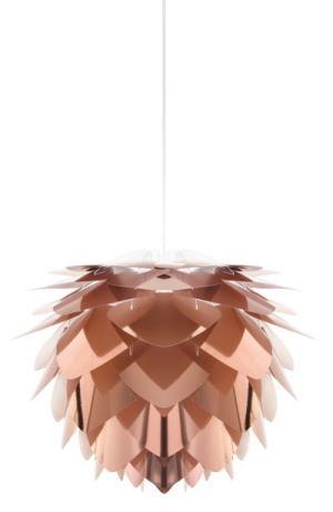ELUX エルックス 02031-WH ヴィータ シルヴァ ミニ コパー 1灯ペンダント(ホワイトコード)(電球別売)