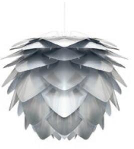 ELUX エルックス 02053-BK ヴィータ シルヴァ スチール 1灯ペンダント(ブラックコード)(電球別売)