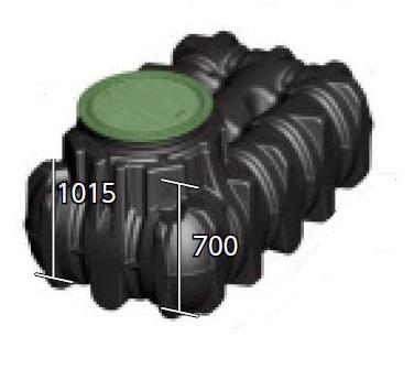 グローベン C20GR515G GBアンダータンク 1500L ガーデンセット (樹脂製蓋)
