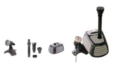グローベン C40TCS3500B 噴水セットB LEDライト 1/2インチノズル ポンプSystemX3500