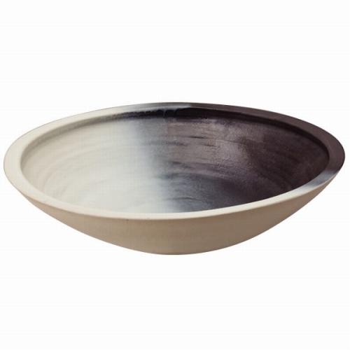 グローベン A60CGH011 信楽焼水鉢 あすか・大 600φ×H150 ※送料見積もり品